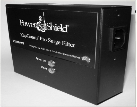 Zapguard Pro 10A Surge Filters (Ideal for Plug-In 1- 2kVA UPS Applications)