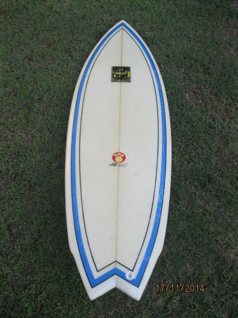 """5'10"""" Rip Curl Fish Surfboard 00350"""