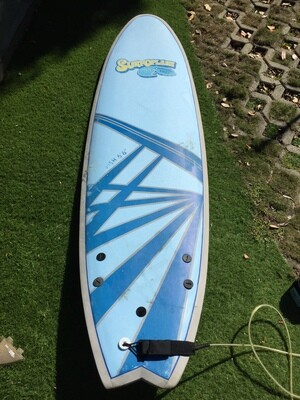6'6 Surfoplane Softboard