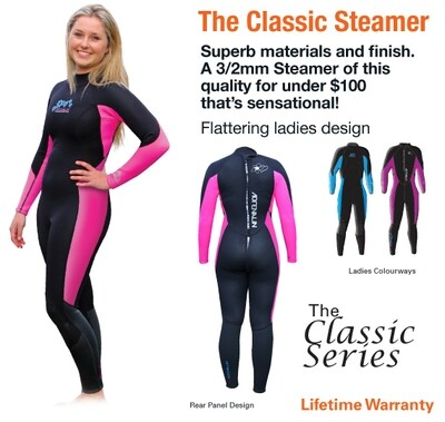 Women's L/S Steamer