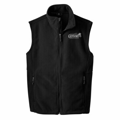 KCA Men's or Ladies Fleece Vest