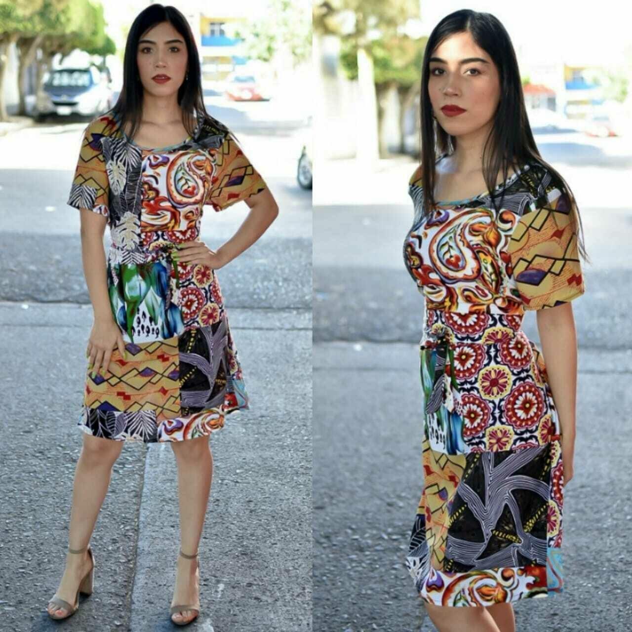 vestido modelo Won
