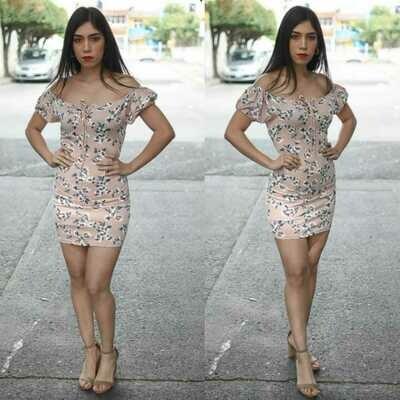 Vestido Floral modelo SNN18-2