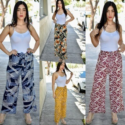 Maxi pantalon recto