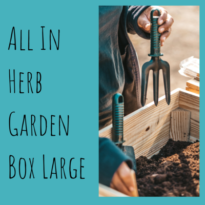 All In Herb Garden Box Large