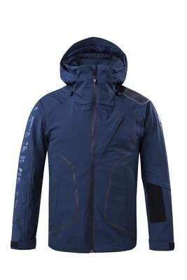 Funktions-Jacke Dress Blue Herren mit Kapuze