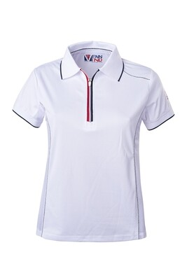 T-Shirt Polo White Damen