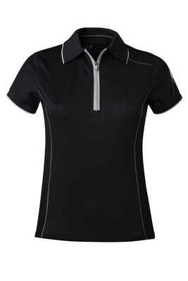 T-Shirt Polo  Black Damen