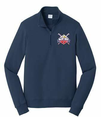 Navy 1/4 zip Sweatshirt