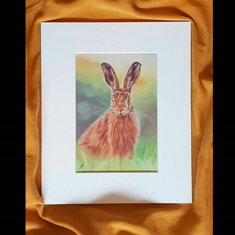 Spring Hare Limited Edition Print