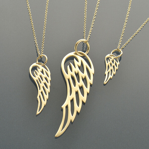 Set of Angel Wing Necklaces
