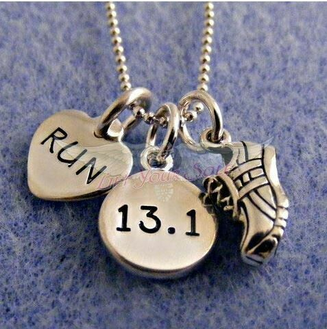I Love To Run Thirteen Point One! Necklace