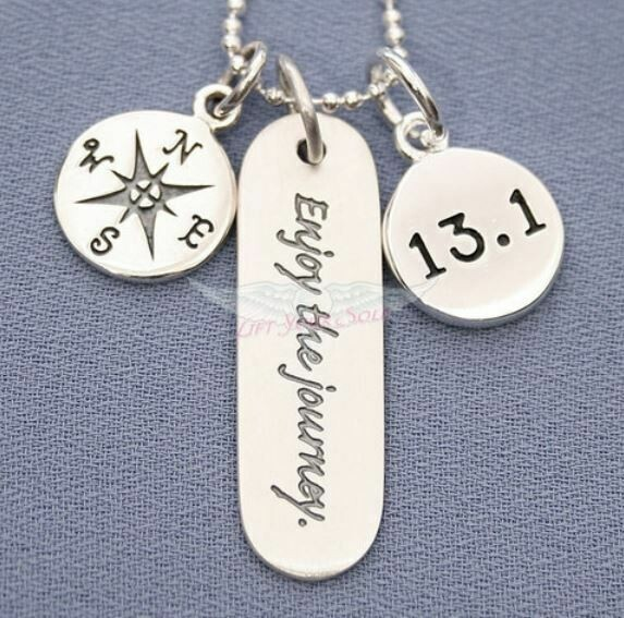 Enjoy The Journey, 13.1 Charm Trio Necklace