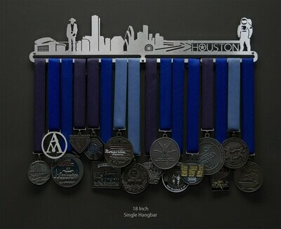 Medal Holder Houston Cityscape