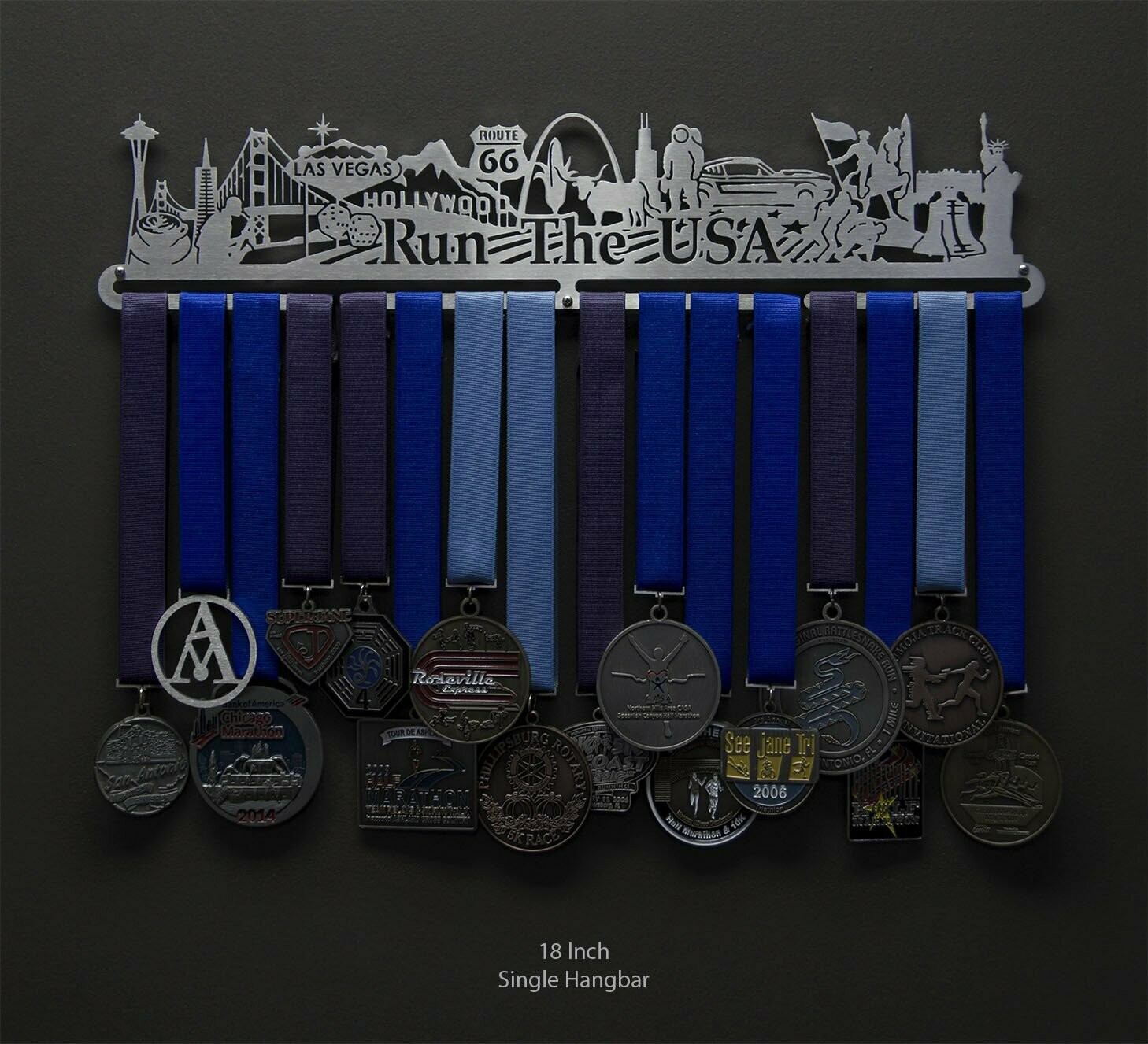 Medal Holder Run The USA