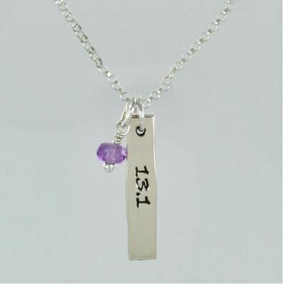 13.1 Running Distance Necklace