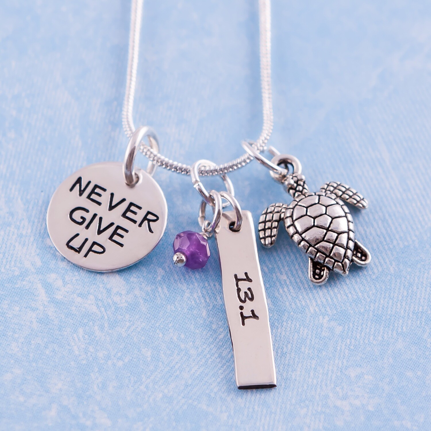13.1 Never Give Up Necklace