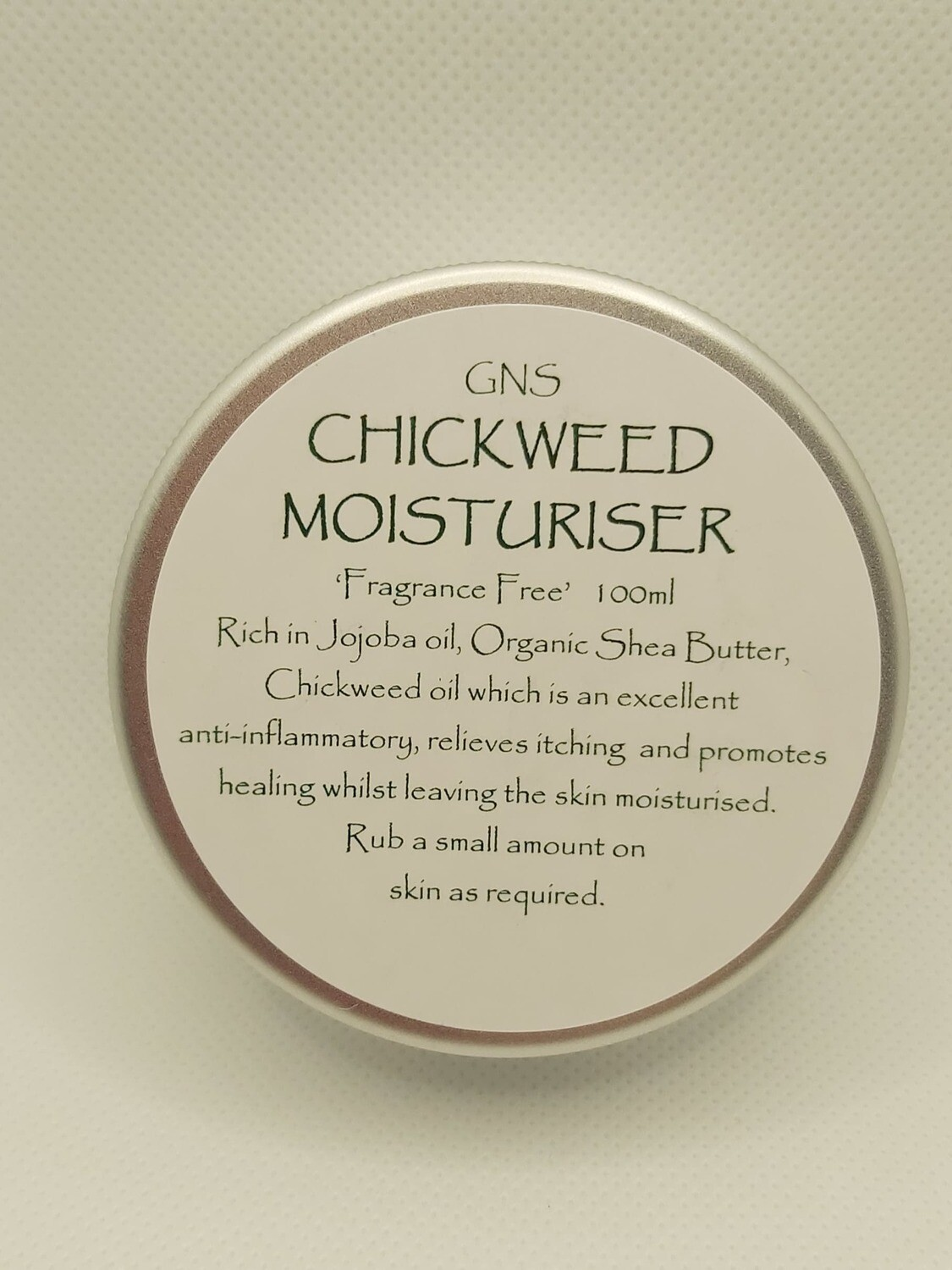 100ml Chickweed Moisturiser