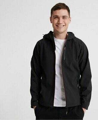 Hooded Stretch Softshell Jacket
