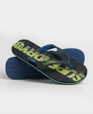 Chanclas Superdry Classic Scuba Flip Flop Camo Navy