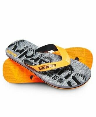 Chancla Scuba Grit Flip Flop Orange