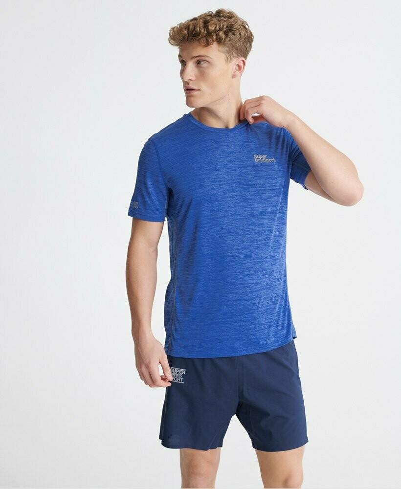 Camiseta tecnica training azul
