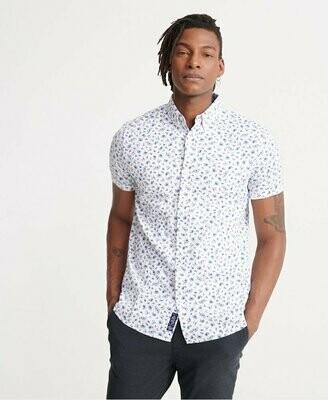 Camisa Shoreditch Estampada Blanca