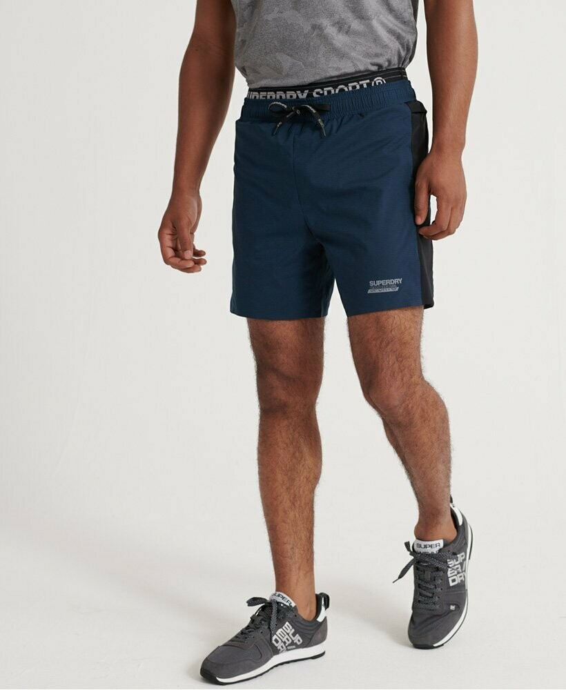 Active Double Layer Shorts Deep Teal