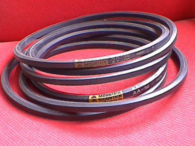 250-001-037 V-Belt, Double V for Ball Returns