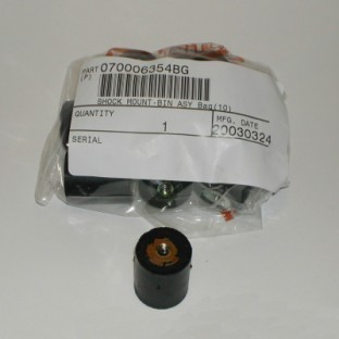 070-006-354 SHOCK MOUNT, BIN ASSEMBLY Bag of 10