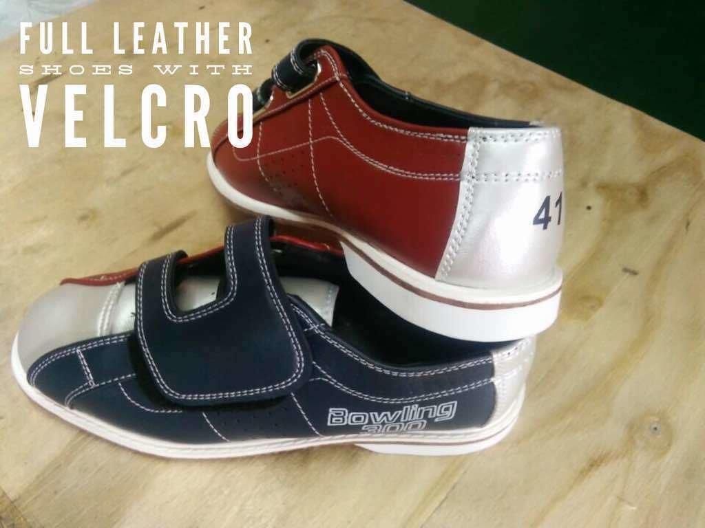 Rental shoes(full leather) velcro/ прокатная обувь на липучке