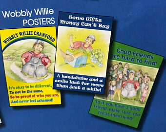 Wobbly Willie Posters