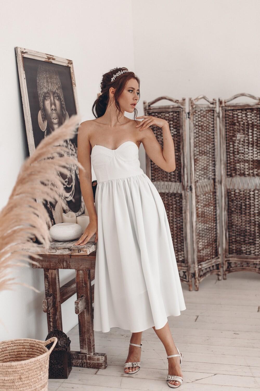 Платье-бюстье Severine