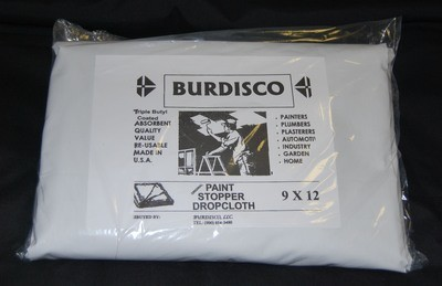 Butyl Backed Drop Cloth- 9X12