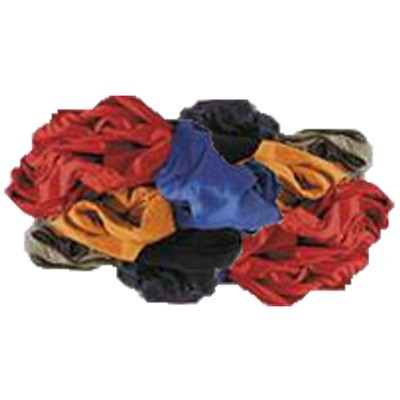 25 Lb. Box of Colored Cotton Reclaimed T-Shirt Rags- Lint Free