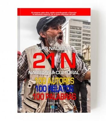 21 N - 100 Autores, 100 Relatos, 100 palabras - Edición Roja