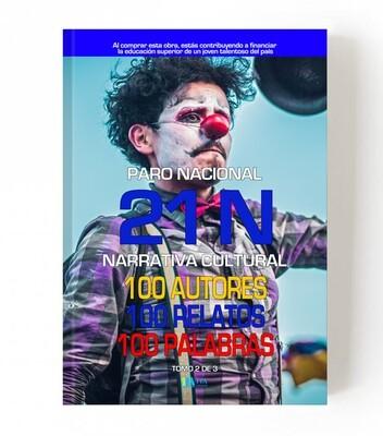 21 N - 100 Autores, 100 Relatos, 100 palabras - Edición Azul