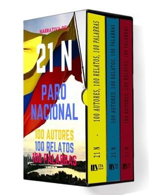 21 N - 100 Autores, 100 Relatos, 100 palabras - Antología
