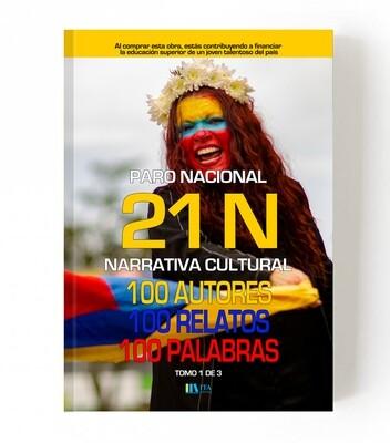 21 N - 100 Autores, 100 Relatos, 100 palabras - Edición Amarilla