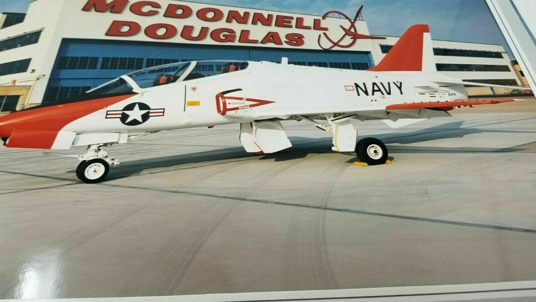 """Large Photo of McDonnell Douglas T-45 Goshawk 14.5"""" x 11"""""""