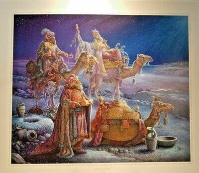 And Wise Men Came Bearing Gifts Tom Dubois Signed Numbered COA 24