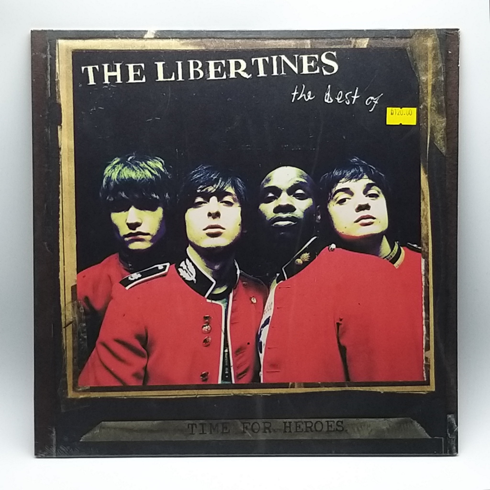 12 CD Record Wall Clock Time For Heroes The Libertines