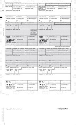 Z-Fold W-2 #5224 (Pk. of 500 Forms)