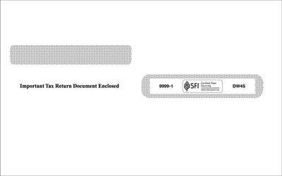W2 Envelope #9999-1 (Set of 100)