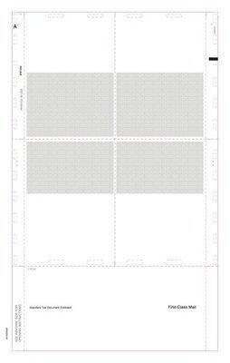 Z-Fold W-2 #5225 (Pk. of 500 Forms)