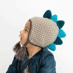 Dinosaur Earflap Beanie Hat