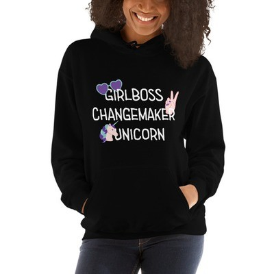 Girlboss Hoodie, Multiple Colours