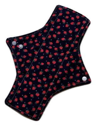 Strawberries - Moderate Cloth Pads