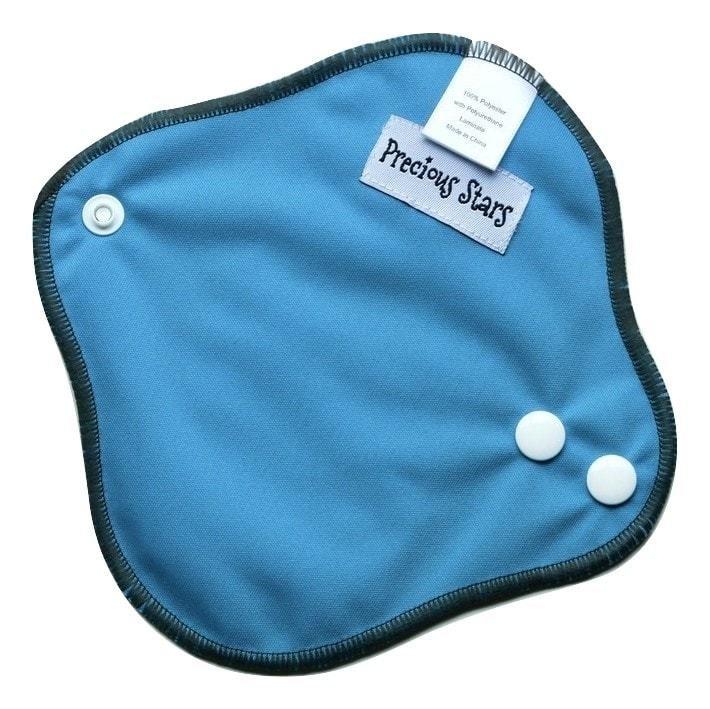 Blue Pantyliner Cloth Pad Menstrual Cups Cloth Pads