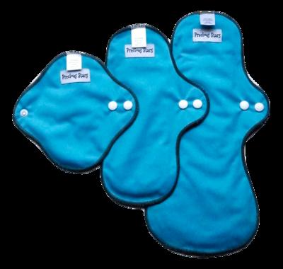 Blue Starter set - Cloth pads